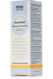 Mio Skincare The Activist Firming Active Body Oil, 120ml