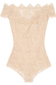 La Belle Chantilly lace bodysuit