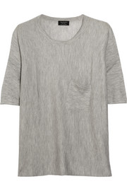 Serena oversized cashmere top
