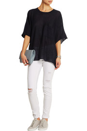 Rag & bone Serena oversized cashmere top