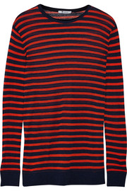 T by Alexander Wang Striped jersey top