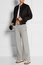 T by Alexander Wang Cotton-blend fleece sweatpants