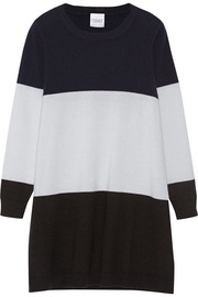 Florence color-block cashmere sweater dress