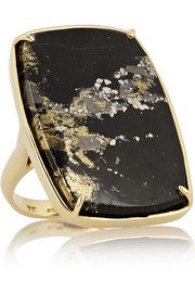 Kimberly McDonald 18-karat gold apache gold ring