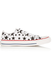Converse Chuck Taylor All Star printed canvas sneakers