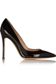 100 patent-leather pumps