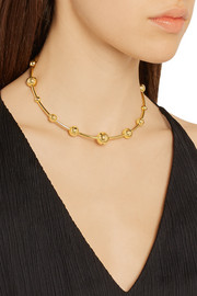 Ara gold-plated choker