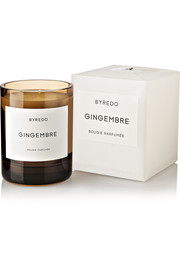 Gingembre scented candle