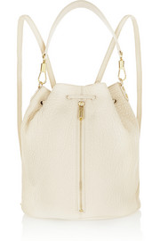 Cynnie Sling textured-leather backpack