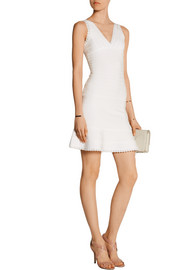 Evelyne bandage mini dress