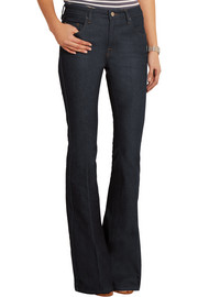 Victoria Beckham Denim Flare high-rise flared jeans