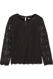 Diane von Furstenberg Brielle lace top