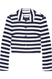 Lacie striped cotton jacket