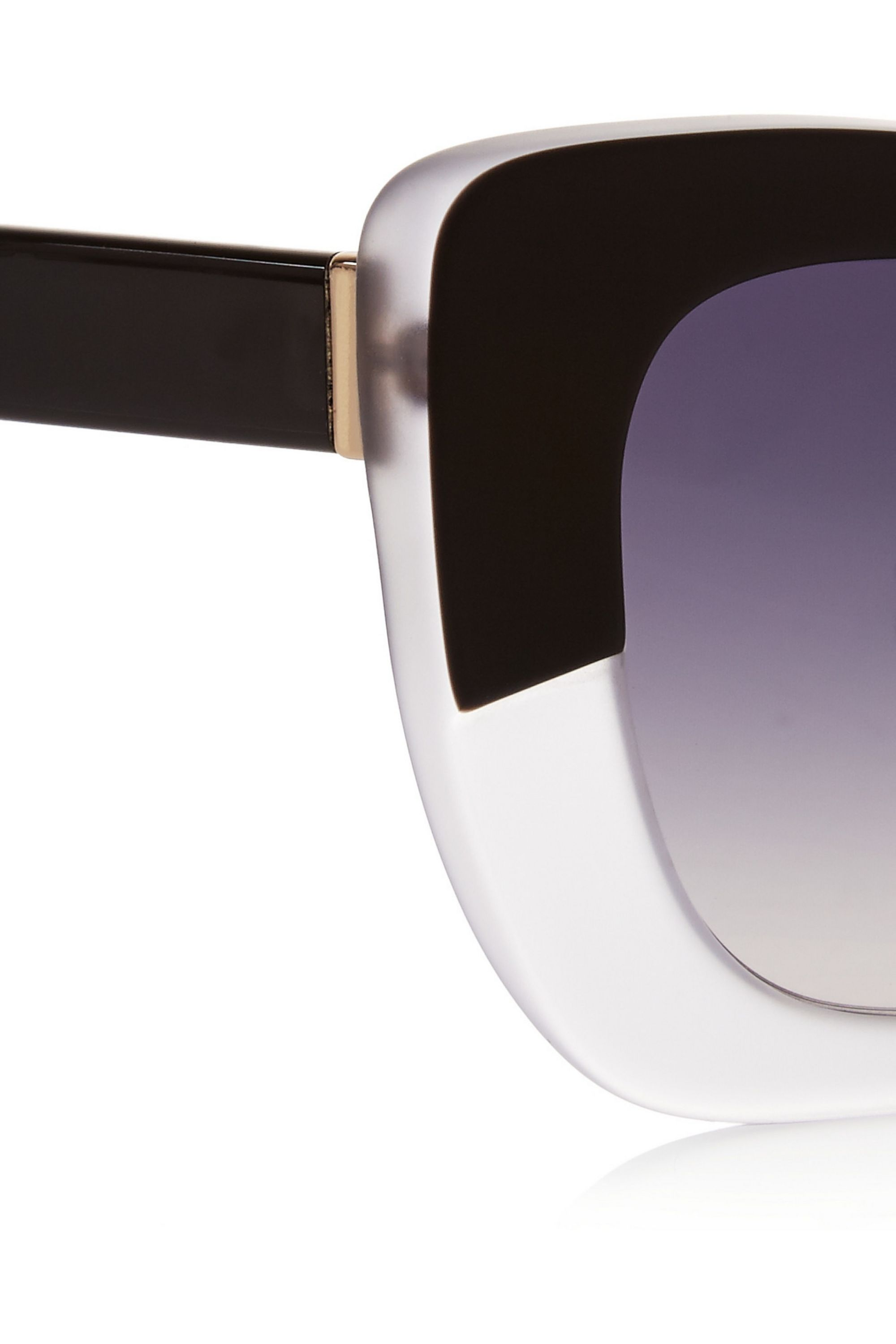 Cutler and Gross Cat eye matte-acetate sunglasses