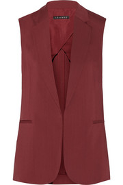 Theory Adar stretch-gabardine vest