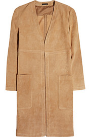 Theory Ankan suede coat