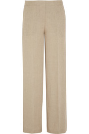 Theory Grinetta linen wide-leg pants