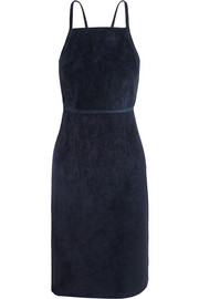Lilita backless suede dress