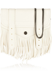 PS1 large fringed leather shoulder bag