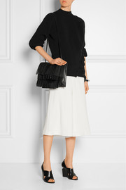 Proenza Schouler The Lunch Bag fringed leather shoulder bag