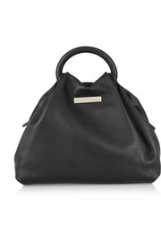 Hangin Round small leather tote