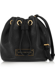 Marc by Marc Jacobs Mini Drawstring textured-leather bucket bag