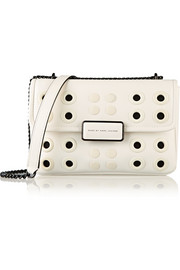 Rebel 24 embellished leather shoulder bag