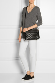 Marc by Marc Jacobs Tread Lightly quilted textured-leather shoulder bag