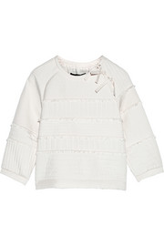 Juna quilted silk sweatshirt