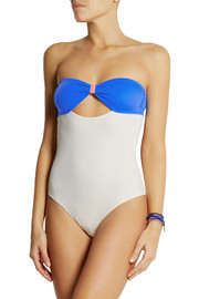 Solid and Striped + Poppy Delevingne cutout swimsuit