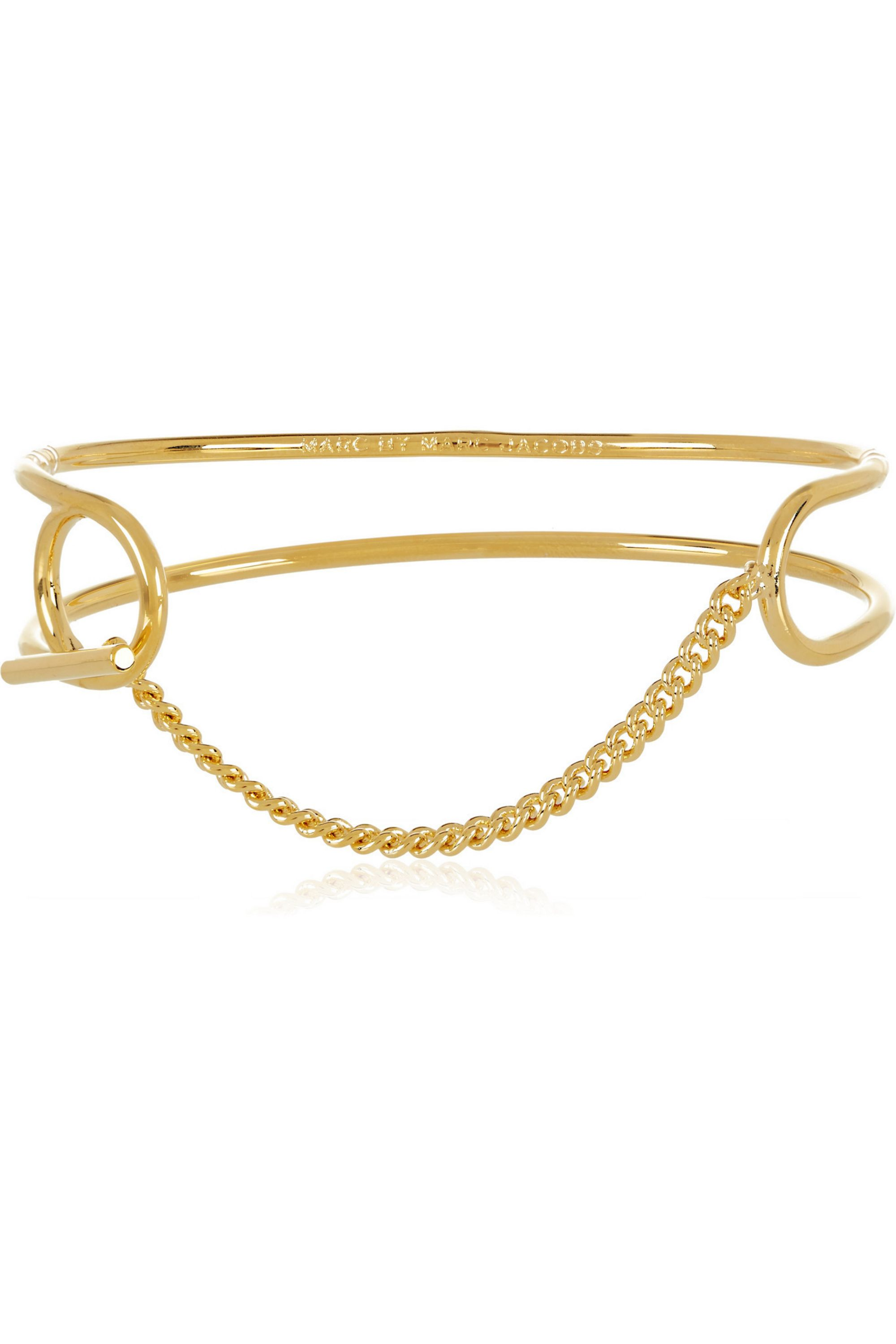 Marc by Marc Jacobs Gold-plated bracelet