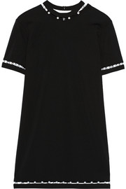 Finds + Adam Selman embellished jersey mini dress