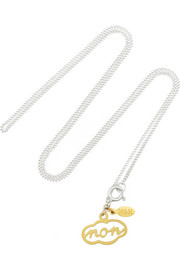 + Wouters & Hendrix silver and gold-plated necklace