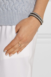 Finds + Khai Khai Thumbs Up 18-karat gold diamond ring