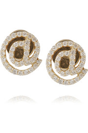 Finds + Khai Khai @ 18-karat gold diamond earrings