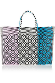 Finds + Truss woven plastic tote