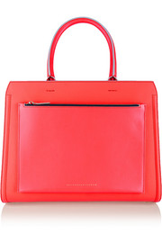 The City Victoria large leather tote