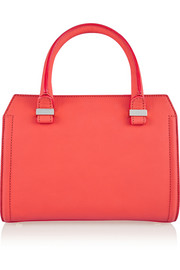 The Victoria mini matte-leather tote