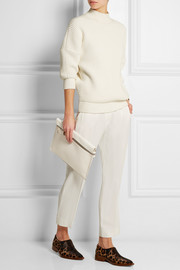 Victoria Beckham Leather clutch