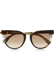 Fendi Cat eye acetate sunglasses