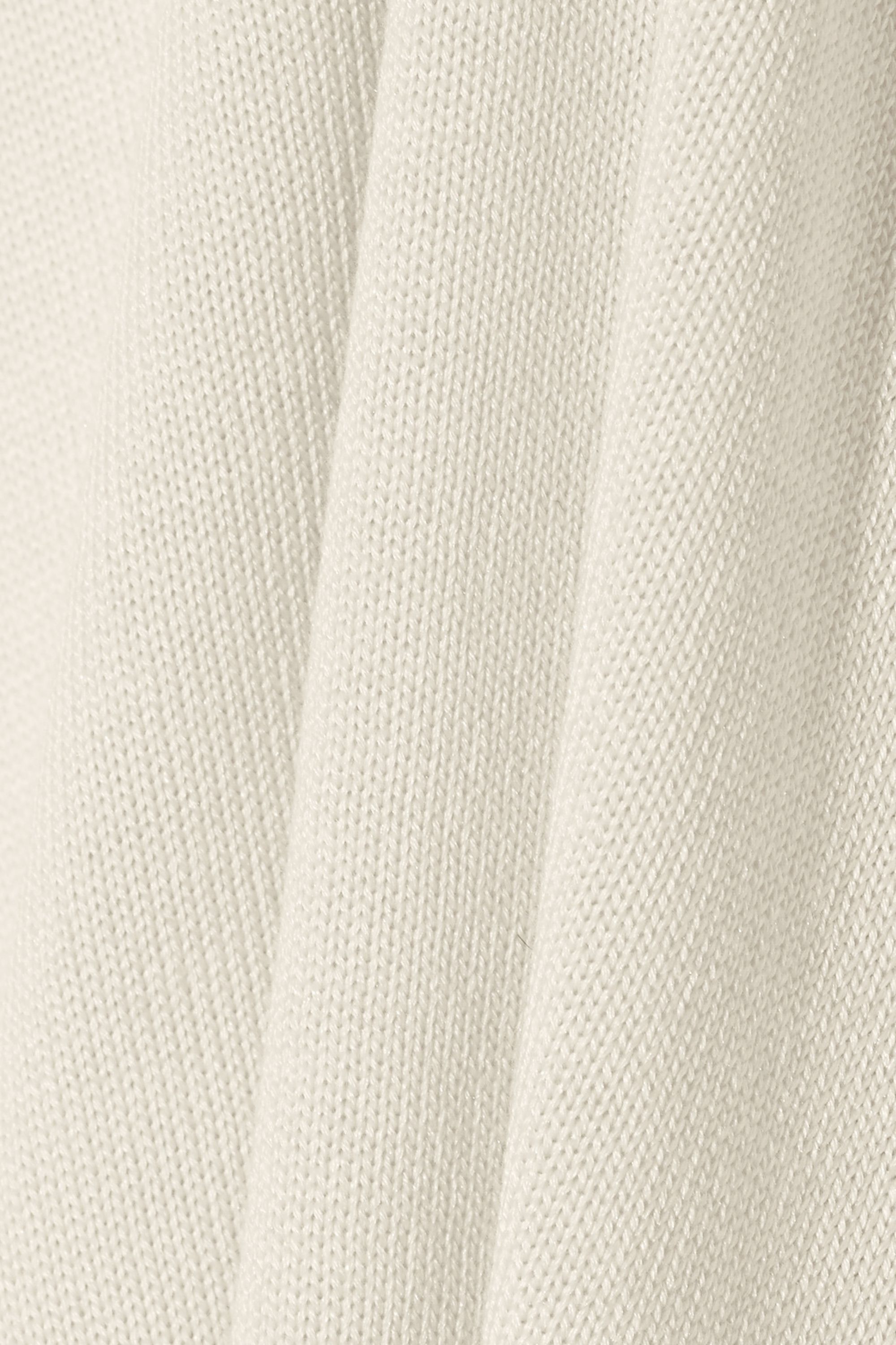 The Row Gia silk and cotton-blend sweater