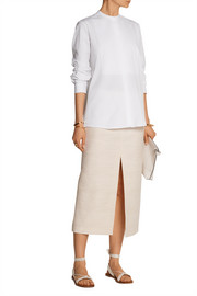 Lakima cotton-blend skirt