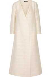 The Row Talico cotton-blend coat