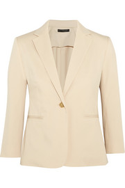 Remy stretch-cotton blazer