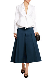 Cotton-poplin culottes