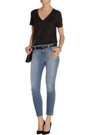 835 cropped mid-rise skinny jeans
