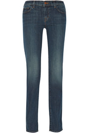 Jude low-rise straight-leg jeans