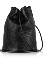 Finds + Building Block Disc textured-leather bucket bag