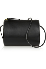 + Building Block Cylinder leather shoulder bag