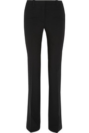 Serge high-rise stretch-wool flared pants